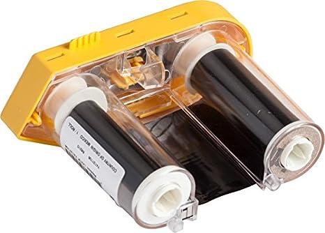 Black R6200 Resin Bmp61 Series Printer Ribbon 2 W x 75 Brady M61-R6210