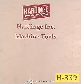 hardinge Cobra 42 Lathe, w/GE Fanuc 21T Control, Owner's