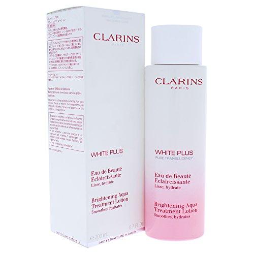 Clarins White Plus Brightening Aqua Treatment Lotion, 6.7 Ounce Clarins Bright Plus Night Care