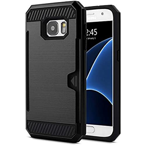 Samsung Galaxy S7 Edge SafeGuard2.0 Heavy Duty Air Cushion Protective Case (2016 Release) - Retail Package (Black/Black) Sales