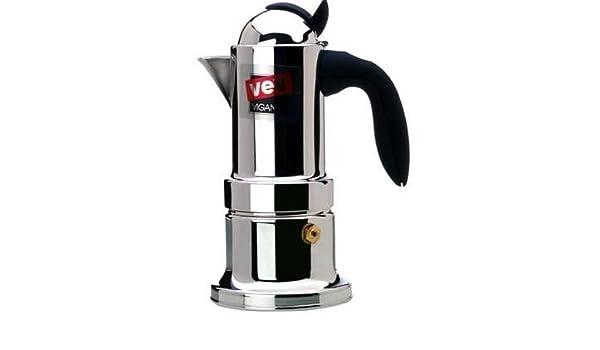 Nuova Kontessa 4 TZ tazas cafetera espresso: Amazon.es: Hogar