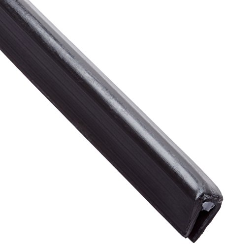 Panduit GES62F-A-C0 Solid Grommet Edging, Adhesive Lined, Black (100-Foot) by Panduit (Image #1)