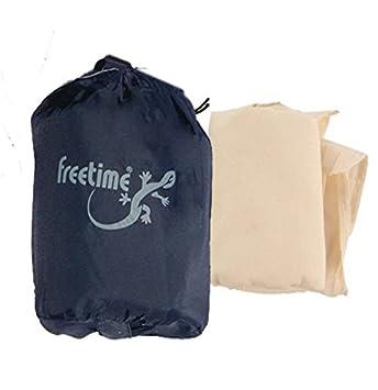 Freetime 40017 - Funda de compresión para saco de dormir color blanco: Amazon.es: Deportes y aire libre