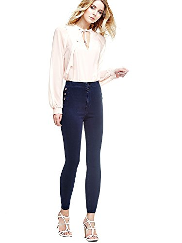 Denim Guess d27h0gjdkka W64a38 Blu D27h0gjdkka Eg061w64a38 Casual Jeans Donna Pantalone 0ZxqB7Fw