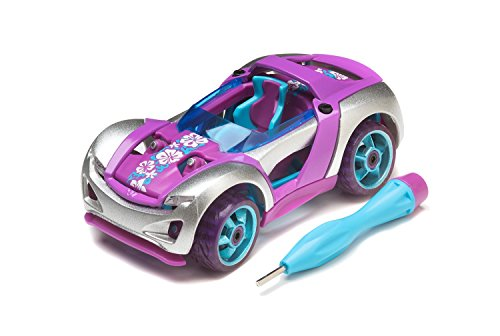 (Modarri S1 Beach Cruzer Build Your Car Kit Toy Set - Ultimate Toy Car: Make Your Own Car Toy - for Thousands of Designs - Real Steering and Suspension - Educational Take Apart Toy Vehicle)