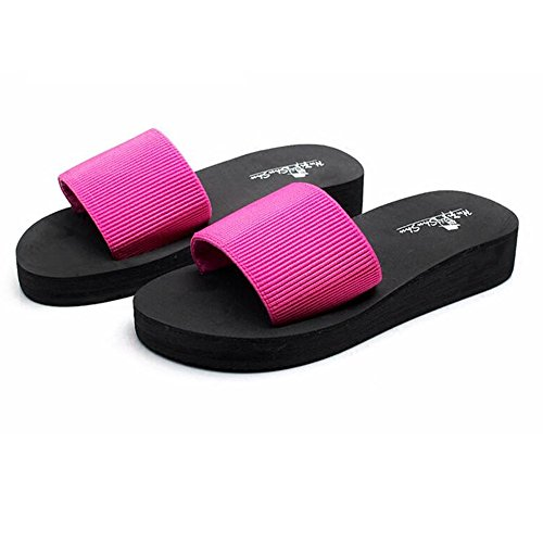 FEI Mädchen Sandalen Sommer flache untere coole Pantoffeln Freizeit Rutschfeste Strandschuhe für Frauen (18-40 Jahre alt) Rutschfest ( Farbe : 1003 , größe : 33 ) 1001