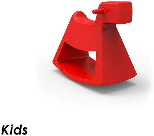 Vondom Rosinante Kids caballo balancín para niños de exterior rojo: Amazon.es: Jardín