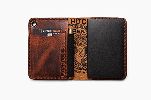 The Trucker's Hitch - Small Notebook Wallet with Pen Holder for Everyday (Womens Hitch)