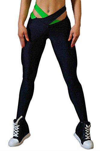Tuta Gr Unique Leggins Sportivi A Classiche Yoga Donne Training Casual Matita Palestra Pantaloni Skinny Elastico Della Eleganti Fashion TZqwqSFy