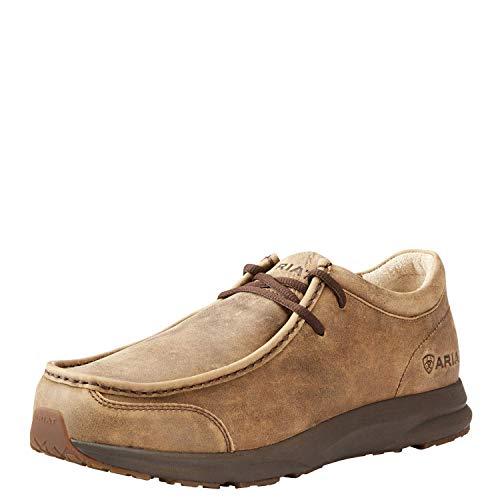 Ariat Men's Spitfire Slip On Western Boot, Brown Bomber, 9EE