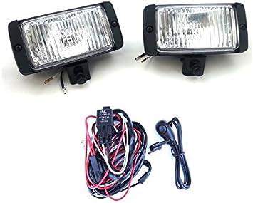 2 Zusatzscheinwerfer Fernscheinwerfer Weiß Pkw Lkw GÄlendewagen Kabel On Off Auto