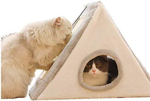 RENZE Árbol Rascador para Gatos, con Material de Bola de Captura ...