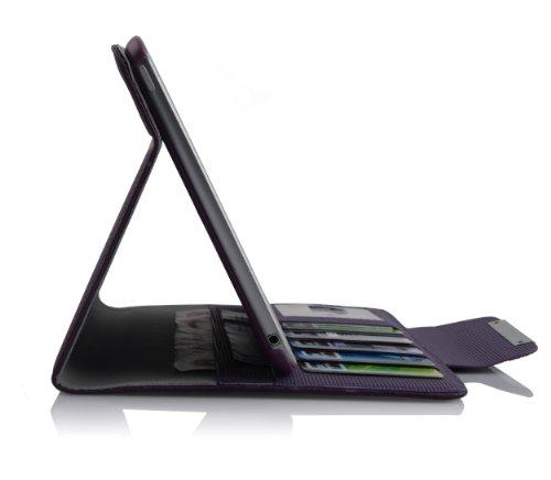 Cadorabo ®! Premium Samsung Galaxy Tab 2 7.0 Tablet (P3100/ P3110) Funda De piel sintética con cierre magnético y función de soporte en in lila lila