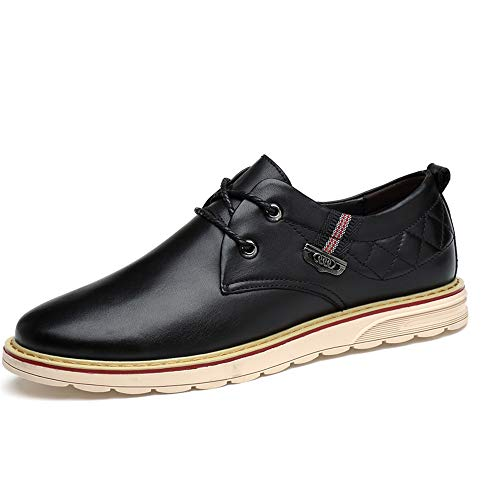best loved f3ed5 92317 Hishoes Men s Business Oxford Casual Simple Classic Round Toe Formal Formal  Formal Shoes Anti-Slip (Color   Black, Size   8.5... Parent B07JW7MM21  1b6c73