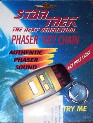 Star Trek the Next Generation Phaser Key Chain