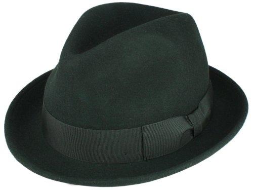 Para Sombrero Rassow Negro Trilby Gino Hombre xw6n4qRfU