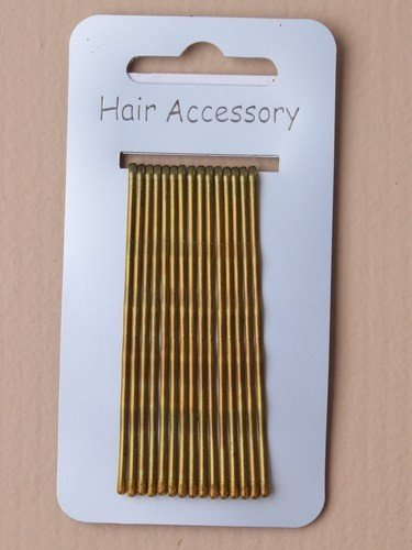 Kirby Hair Grips - Blonde - Pack of 15 - 65mm Mias Accessories 8449