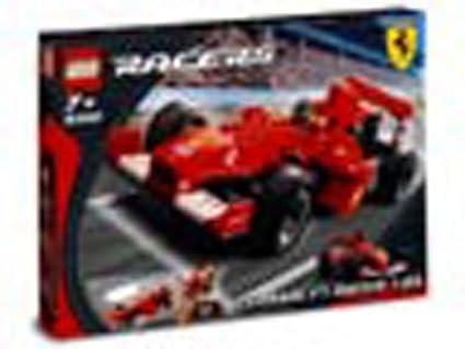 Amazon Com Lego Racers Ferrari F1 Race Car 1 24 8362 Japan Import Toys Games