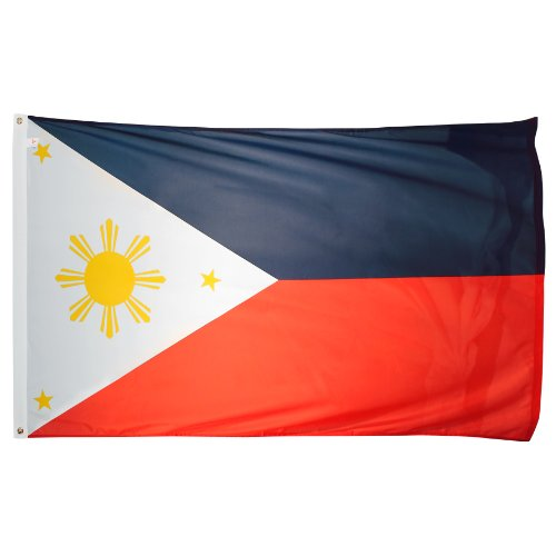 (US Flag Store Superknit Polyester Philippines Flag, 3 by 5-Feet)