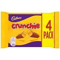 Cadbury Crunchie Treat Size 4 Pack (pack of