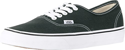 Vans Womens Authentic Canvas Low Top Lace Up, Scarab/True White, Size 12.0]()