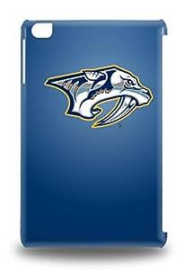Premium 3D PC Case For Ipad Mini/mini 2 Eco Package Retail Packaging NHL Nashville Predators Logo ( Custom Picture iPhone 6, iPhone 6 PLUS, iPhone 5, iPhone 5S, iPhone 5C, iPhone 4, iPhone 4S,Galaxy S6,Galaxy S5,Galaxy S4,Galaxy S3,Note 3,iPad Mini-Mini 2,iPad Air )