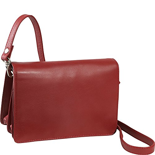 Derek Alexander Full Flap Organizer (Red) by Derek Alexander Leather