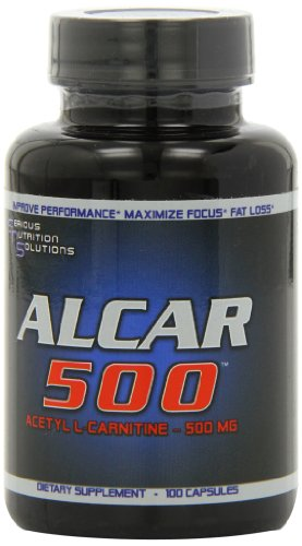 Serious Nutrition Solution Alcar-500 Capsules, 500mg, 100-Count For Sale