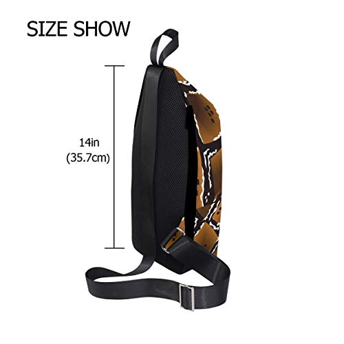 One Snake For amp; Chest Bennigiry Bag Men Women Backpack Shoulder Sling Texture Bags Crossbody TadncgnqC