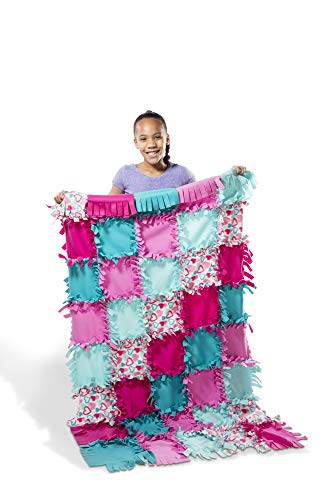 No Sew Quilt Kits - Melissa & Doug Created by Me! Fleece Quilt No-Sew Craft Kit