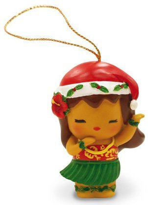 Amazon.com: Island Yumi Hawaiian Hula Girl Resin Christmas ...