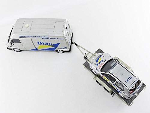 Otto Mobile- Voiture Miniature de Collection, OT289B, Argent