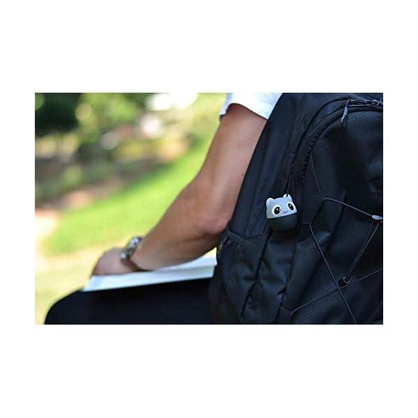 TBS2520 Mini Enceinte Bluetooth sans Fil - Mini-Animal Souris - Super Mignon & Puissante - 3 Watts - Kit Main-Libre Téléphone & Selfie - Appli pour Jouer - pour iPhone Samsung Huawei etc & Tablette 4