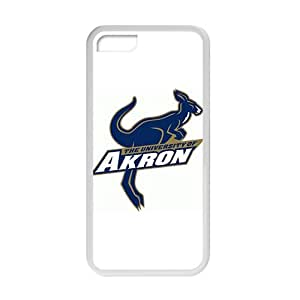 NCAA Akron White For SamSung Note 2 Phone Case Cover