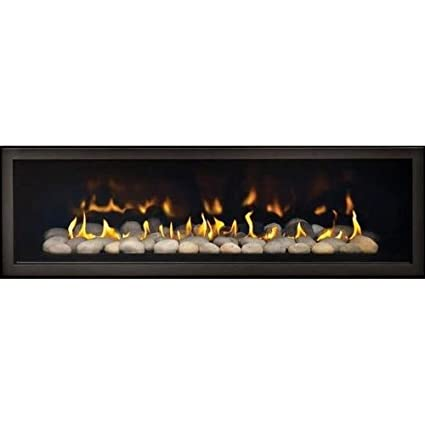Terrific Napoleon Lhd50 2 Sided Linear Propane Gas Fireplace Black Home Interior And Landscaping Ologienasavecom