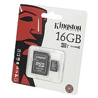 Acce2S - Kingston 16 GB Memory Card for Samsung Galaxy J3 2016 - Micro SDHC Class 10 Card