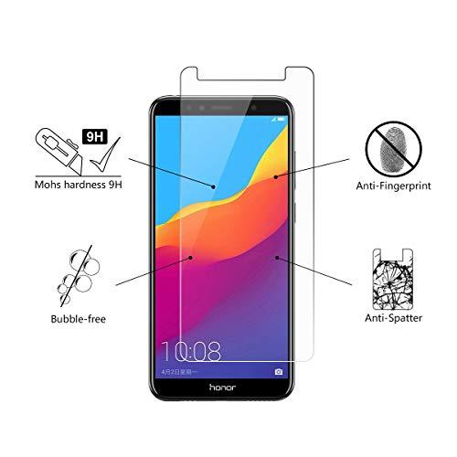 Amazon.com: Huawei Honor 7A Protector de Pantalla, [Espesor ...