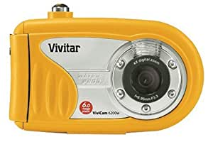 "Vivitar VIVICAM-6200W 6.0 MegaPixel Underwater Camera with 4x Digital Zoom 2.0"" LCD"