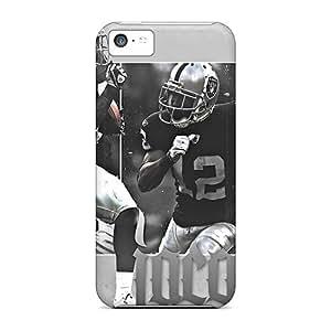 New Tpu Hard Case Premium Iphone 5c Skin Case Cover(oakland Raiders)