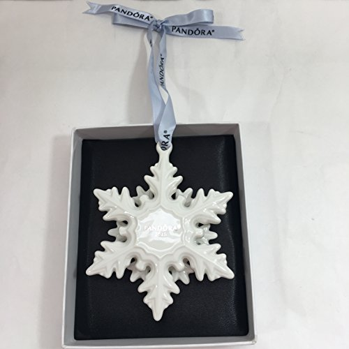 PANDORA SNOWFLAKE Collector 2015 Christmas Ornament Limited Edition w Box PUSP002 by SNOWFLAKE ORNAMENT (Image #1)