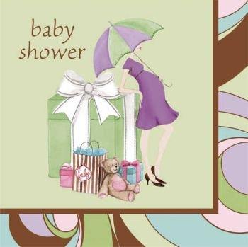 Baby Shower Parenthood (Baby Shower 'Parenthood' Lunch Napkins (16ct))