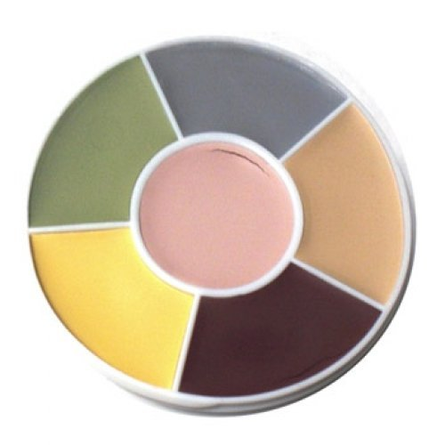 Ben Nye Death Makeup Wheel Makeup DW (1 oz/28 gm) -