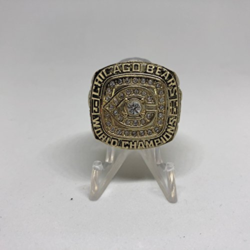 Walter Payton Chicago Bears High Quality Replica 1985 Super Bowl XX Championship Ring Size 12-Gold Colored US SHIPPING