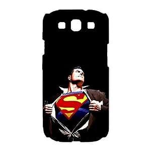 Samsung Galaxy S3 I9300 Phone Cases White Superman BVX740545