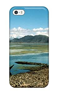 TYH - Hot New Premium Flip Case Cover Titicaca Lake Skin Case For Iphone 5C phone case