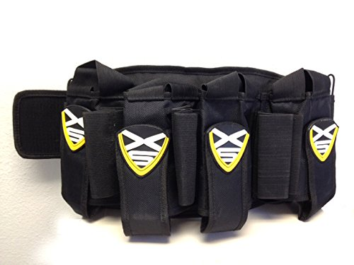 Paintball Belt XSV Professional Harness with 4 Pack for Pods