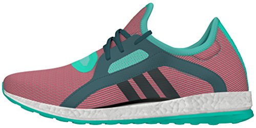 adidas Pureboost X, Zapatillas de Running para Mujer Turquesa (Menimp / Vertec / Rojimp)