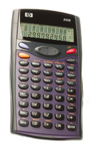 HP 30S Scientific Calculator with Multi-Colored Faceplates