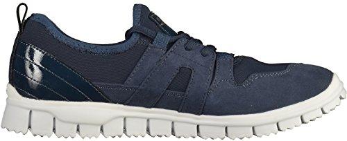 Femme 36 805 Bleu Noir Sneakers 23651 navy Eu Basses Tamaris xgwqSH1