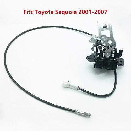 (931-861 For Toyota Sequoia Lift Gate Lock Latch 69301-0C010 Power Door Lock Actuator 693010C010 Back Lock Sub-Assembly Door Lock Actuator with Cable Assembly Fits Toyota Sequoia 2001-2007)